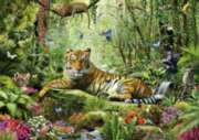 Schmidt Jungle Tigers Jigsaw Puzzle
