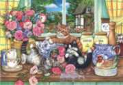 Anatolian Kittens in the Kitchen Jigsaw Puzzle