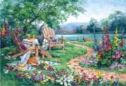Anatolian Lakeside Afternoon Jigsaw Puzzle