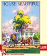 New York Puzzle Company Country Town Jigsaw Puzzle