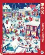 New York Puzzle Company Holiday Hustle Jigsaw Puzzle