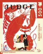 New York Puzzle Company Lobster Lovers Jigsaw Puzzle