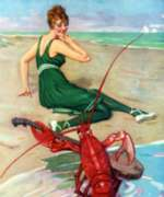New York Puzzle Company Lobster Serenade Jigsaw Puzzle