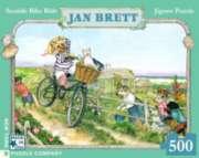 New York Puzzle Company Seaside Bike Ride Jigsaw Puzzle