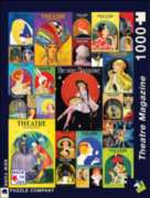 New York Puzzle Company Theatre Magazine Collage Jigsaw Puzzle
