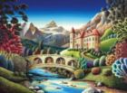 Andy Russell: Castle Creek - 1000pc Jigsaw Puzzle by Andrews + Blaine