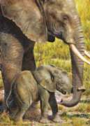 Masterpieces African Elephant Jigsaw Puzzle
