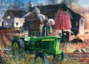 Masterpieces Barnyard Tussle Jigsaw Puzzle