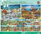 Bonnie White Bundle - 4x100, 4x300, 4x500pc Jigsaw Puzzle by Masterpieces