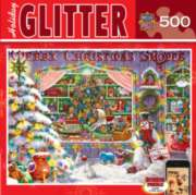 Masterpieces Christmas Shop Jigsaw Puzzle