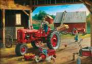 Masterpieces Farmall 4-Pack Jigsaw Puzzle