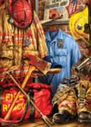 Masterpieces Fire and Rescue Jigsaw Puzzle