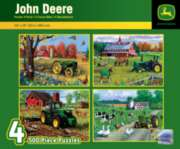 Masterpieces John Deere 4-Pack Jigsaw Puzzle