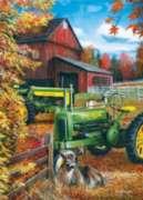 Masterpieces John Deere | Deere Family Jigsaw Puzzle Tin