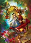 Masterpieces Lost in Wonderland Jigsaw Puzzle