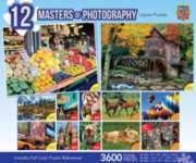 Masterpieces Masters of Photography Jigsaw Puzzle Bundle