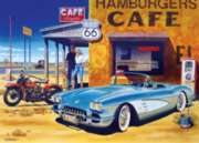 Masterpieces Route 66 Caf� Jigsaw Puzzle