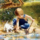 Summertime Friends - 1000pc Jigsaw Puzzle by Masterpieces