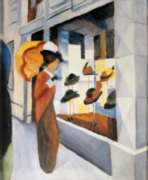 Puzzles Michele Wilson La chapellerie - MACKE Handcrafted Jigsaw Puzzle