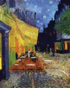 Puzzles Michele Wilson Le cafe le soir - VAN GOGH Handcrafted Jigsaw Puzzle
