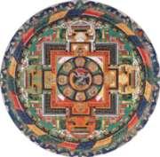 Puzzles Michele Mandala de Vajrabhairava Handcrafted Jigsaw Puzzle