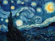 Puzzles Michele Wilson Nuit �toil�e - VAN GOGH Handcrafted Jigsaw Puzzle