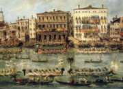 Puzzles Michele Wilson R�gates sur le Grand Canal - GUARDI Handcrafted Jigsaw Puzzle