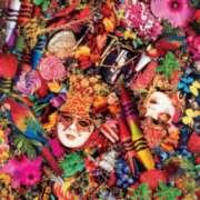 Ceaco Al Souza Assemblage Carnival Jigsaw Puzzle