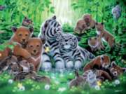 Ceaco Aqua Shimmer Forest Jigsaw Puzzle