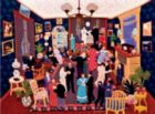 Arlette Gosieski Quilts: Party at Linette's - 1000pc Jigsaw Puzzle by Ceaco
