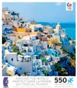 Ceaco Around the World Santorini, Greece Jigsaw Puzzle