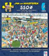 Ceaco Cartoon Capers Departure Hall Jigsaw Puzzle