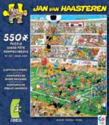 Ceaco Cartoon Capers Soccer Jigsaw Puzzle