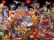 Ceaco City Lights Jigsaw Puzzle | Las Vegas