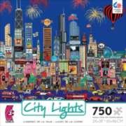 Ceaco City Lights Jigsaw Puzzle | My Kind of Town, Chicago