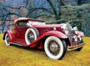 Ceaco Classic Cars Jigsaw Puzzle | Red