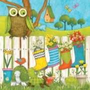 Ceaco Debbie Mumm Owl and Friends Jigsaw Puzzle