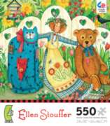 Ceaco Ellen Stouffer Girl and Friends Jigsaw Puzzle