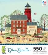 Ceaco Ellen Stouffer The Lighthouse Jigsaw Puzzle