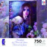 Ceaco Fairyland Jigsaw Puzzle | Midnight Rose