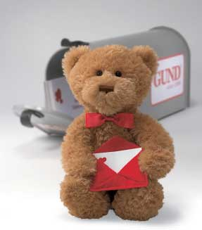 "I Am Yours Valentine (Sing and Move) - 11"" Bear by Gund"