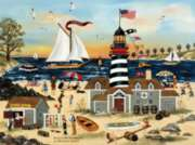 Ceaco Jane Wooster Scott Beacon on the Beach Jigsaw Puzzle