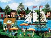 Ceaco Jane Wooster Scott Fun in the Sun Oversized Jigsaw Puzzle