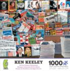 Ken Keeley: 20-21st Century Newsstand - 1000pc Jigsaw Puzzle by Ceaco