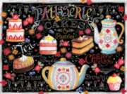 Ceaco Lets Chalk Tea and Cakes Jigsaw Puzzle