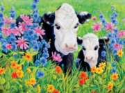 Ceaco Moo Pasture's Edge Jigsaw Puzzle