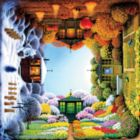 New Perspectives: Four Seasons - 550pc Jigsaw Puzzle by Ceaco