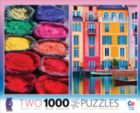 Pigment & Italian Canal: 2 in 1 Multi-Pack - 1000pc Jigsaw Puzzle by Ceaco