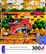 Ceaco Roger Nannini Apple Glen Oversized Jigsaw Puzzle