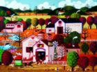 Roger Nannini: Home Sweet Home - Bloomer's - 300pc Oversized Jigsaw Puzzle by Ceaco